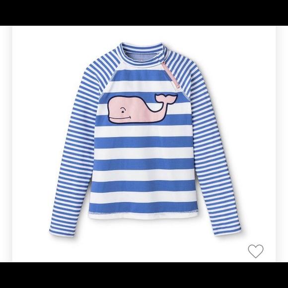dd60969ee5 Vineyard Vines Swim | For Target Girls Blue Shirt | Poshmark
